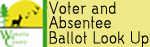 Voter and Absentee ballot look up